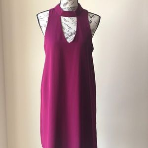 🆕 Fuchsia collar/halter dress